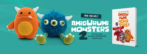 Amigurumi Monsters Book Review - AmVaBe Crochet | 221x600