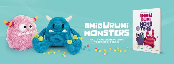 Pin by Amigurumi Patterns.net on Book | Amigurumi Monsters 2 ... | 221x600