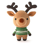 rudolph the reindeer toy crochet pattern