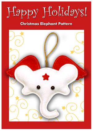 kerst olifant haken